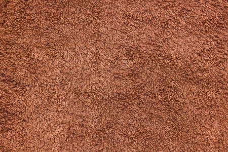 terry: Brown towel texture
