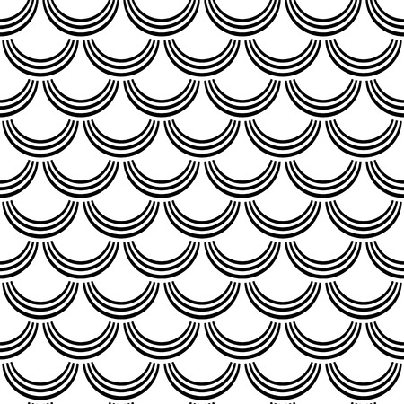 fish scales: Seamless pattern   Fish scale  texture  Vector art