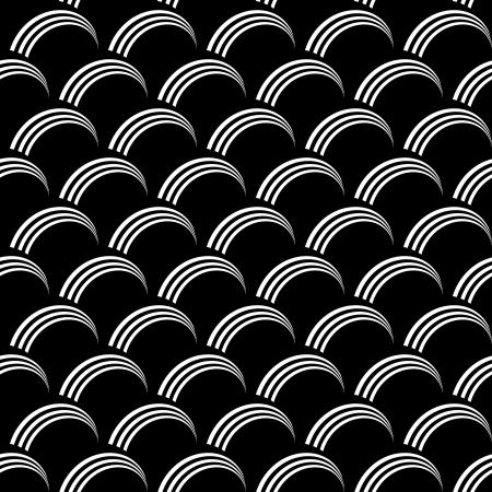 원활한 op 아트 패턴 생선 규모의 텍스처 벡터 아트