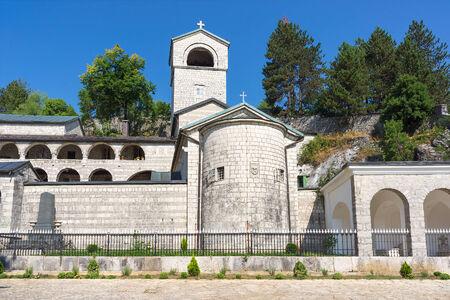 Orthodox monastery in Cetinje, Montenegro  Stock Photo - 23009439