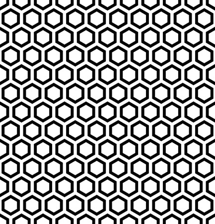 modular: Honeycomb pattern. Seamless hexagons texture. Vector art.