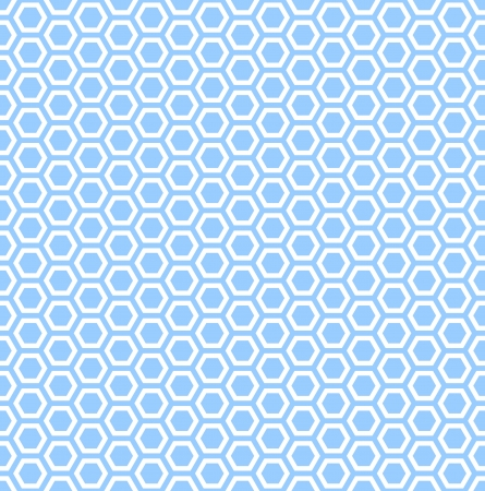 repeatable texture: Hex�gonos de color azul transparente textura patr�n repetible con adorno en forma de panal de arte vectorial Vectores