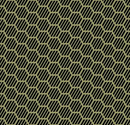 repeatable texture: Seamless hexagons texture  Honeycomb repeatable pattern   Vector art