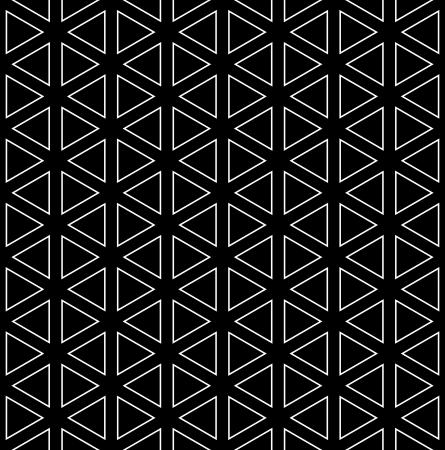 repeatable:  Seamless geometric texture  Hexagons, diamonds and triangles pattern  Vector art