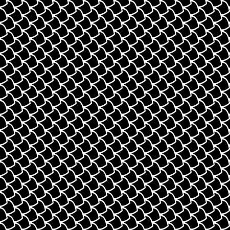 Seamless fish scales texture. Vector art. Stock Vector - 23656493