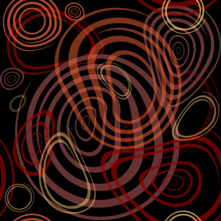 colores calidos: Resumen tel�n de fondo en colores c�lidos. Las l�neas que fluyen espiral textura. Ilustraci�n.