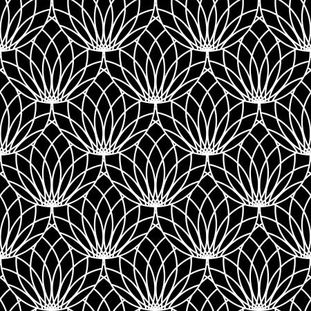 modular: Seamless lacy pattern. Vector art. Illustration