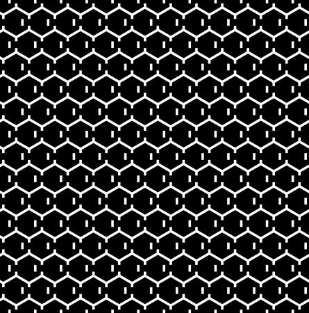 Seamless hexagons texture. Honeycomb pattern.Vector art.