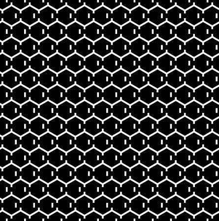 hexagonal pattern: Seamless hexagons texture. Honeycomb pattern.Vector art.