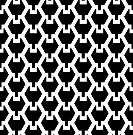 Seamless geometric hexagonal texture  Vector art