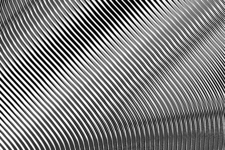 Abstract textured background in op art design. No gradient. Vector art.