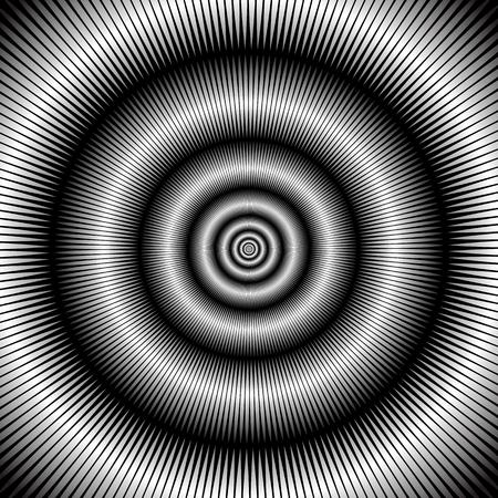pulsation: Abstract circular backdrop  Vector art