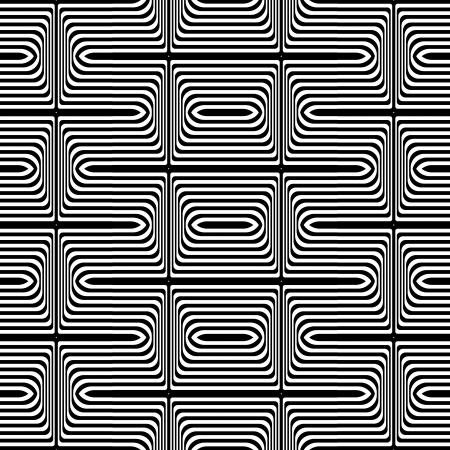 Seamless geometric texture  Vector art