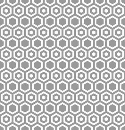 modular: Seamless hexagons texture. Honeycomb pattern. Vector art.