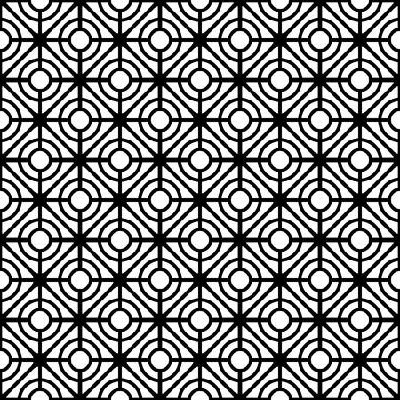 Lattice pattern. Seamless geometric textures. Vector art. Stock Vector - 27530140