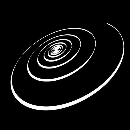 turbulence: Spiral movement  Abstract backdrop  Vector art  Illustration