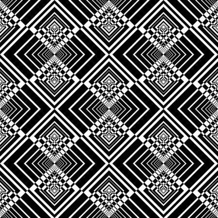 checked: Seamless geometric checked pattern.  Illustration