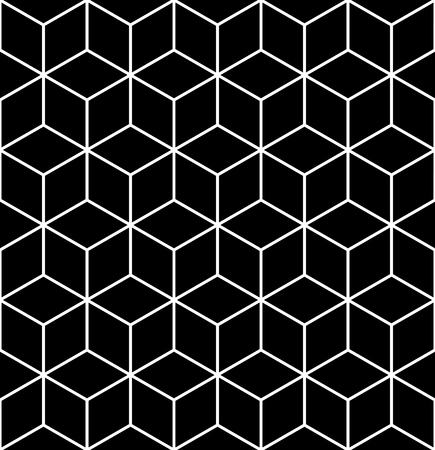 op: Seamless geometric op art texture. Illustration. Stock Photo