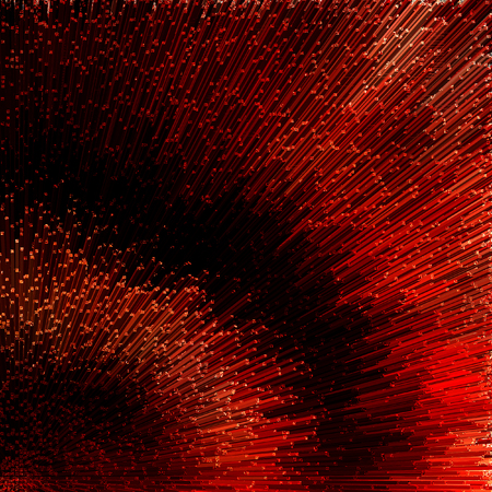 Abstract red textured background. Illustration.