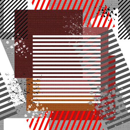 Seamless grunge textured background. Illustration.