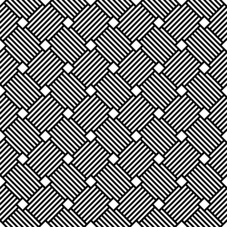latticed: Seamless geometric checked latticed texture. Vector art.