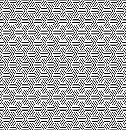 op: Seamless geometric op art texture. Vector art. Illustration