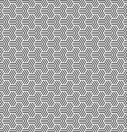 repeatable: Seamless geometric op art texture. Vector art. Illustration