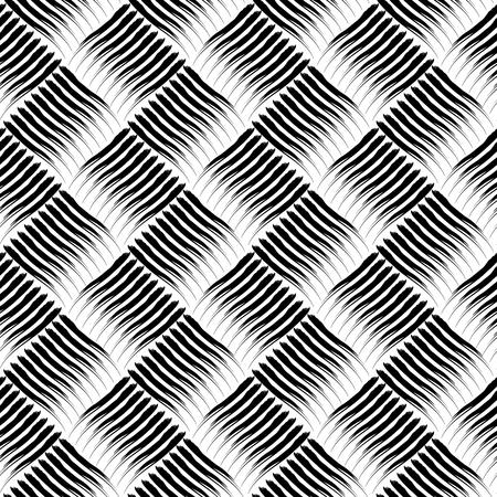 interweaving: Seamless checked texture. Vector art.