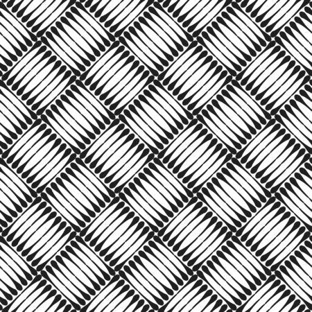 Seamless checked texture. Vector art. Vector