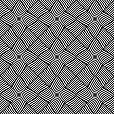 interweaving: Seamless texture. Vector art.