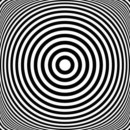 circulos concentricos: Anillos concéntricos. Círculos de textura. Resumen ilustración. Foto de archivo