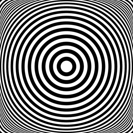 radiate: Concentric rings. Circles texture. Abstract illustration.