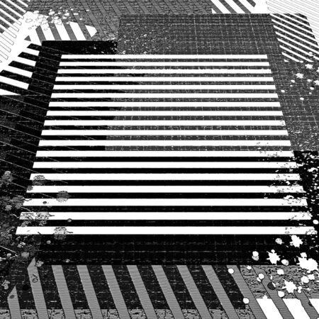Grunge textured background. Illustration. Stock Photo