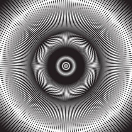 radiacion: La radiaci�n de fondo. Ilustraci�n del vector. Vectores
