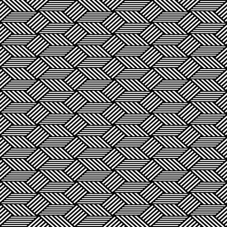 Seamless op art pattern. Geometric texture. Vector art. Vector