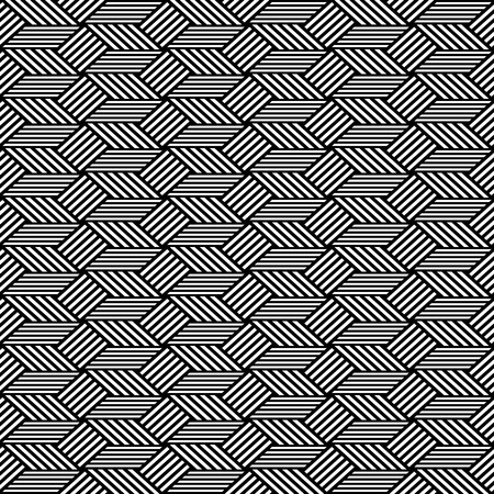 op: Seamless op art pattern. Geometric texture. Vector art.