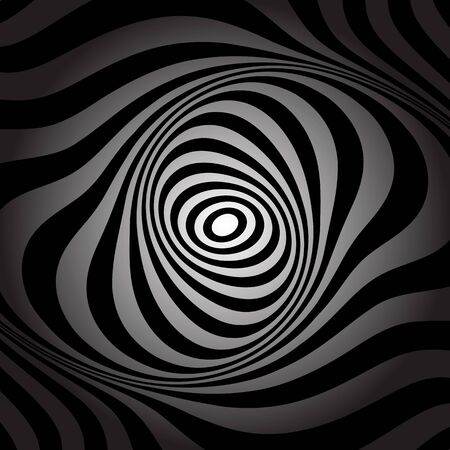 torsion: Torsion movement. Abstract background. Vector art. Illustration