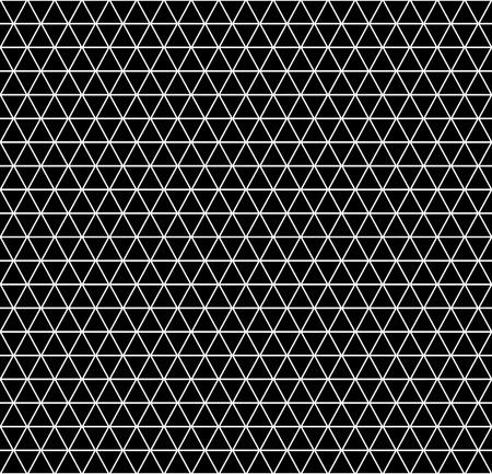 Seamless geometric latticed texture. Hexagons, diamonds and triangles pattern. Vector art. Illustration