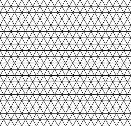 latticed: Seamless hexagons, diamonds and triangles pattern. Geometric latticed texture.  Vector art. Illustration