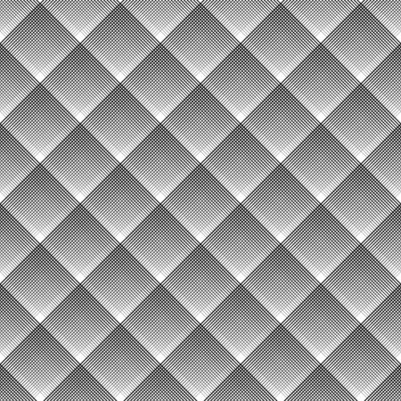 checked: Seamless geometric checked diagonal texture. Vector art.