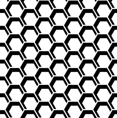 Honeycomb pattern. Seamless hexagons texture. Vector art.