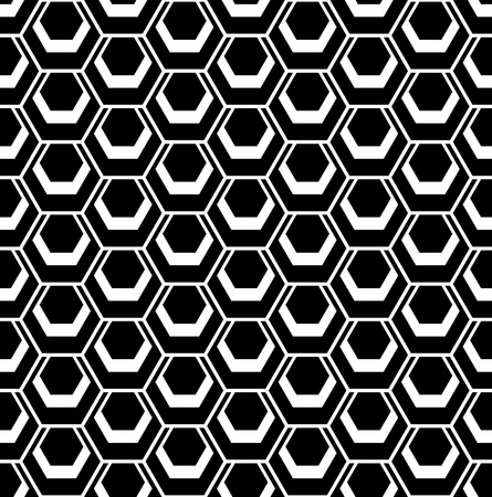 web2: Seamless hexagons pattern. Vector art.