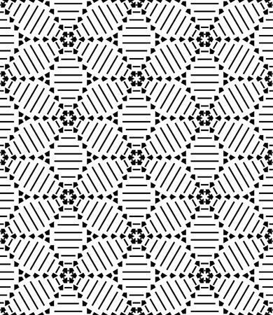 원활한 형상 패턴입니다. 벡터 아트.