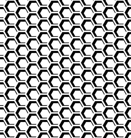 iteration: Seamless honeycomb pattern. Hexagons op art texture.