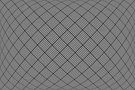 convex shape: Checkered pattern. Abstract textured geometric background.