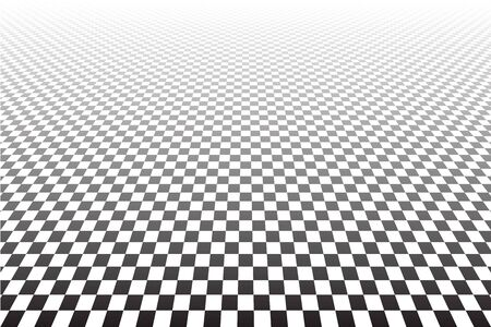 checkered: Tiled textured surface. Abstract geometric checkered background