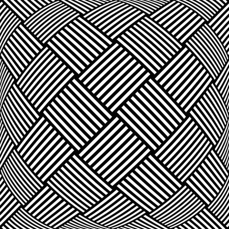 Op art checkered  pattern. Abstract textured geometric background.  Illusztráció