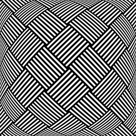 latticed: Op art checkered  pattern. Abstract textured geometric background.  Illustration