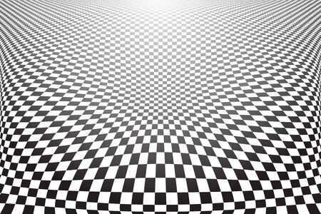 distorted: Distorted textured surface. Abstract checkered background.