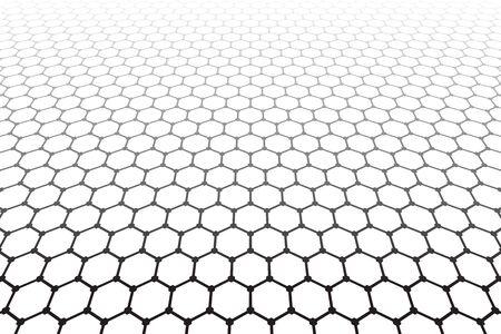 latticed: Hexagons pattern. Geometric latticed texture. Vector art.